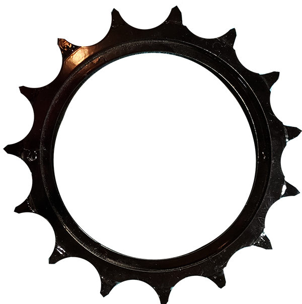 black Germinator closing wheel