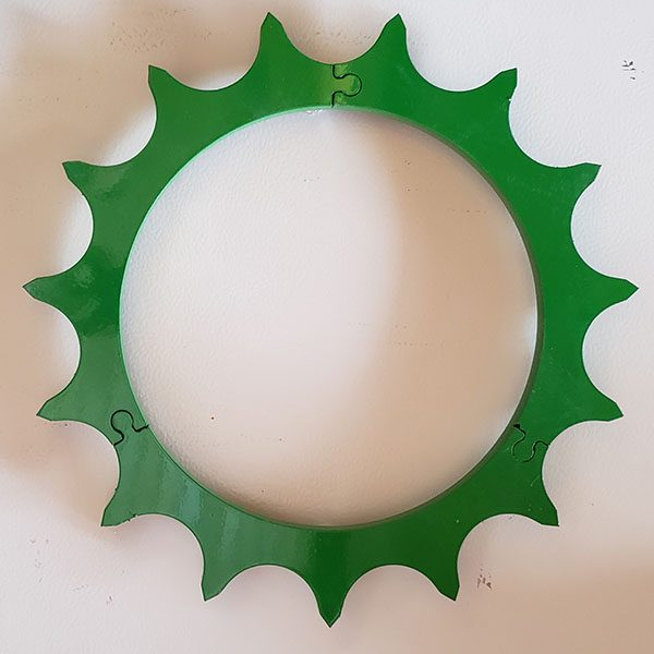 green Germinator closing wheel