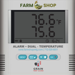 Grain Temperature Monitoring System