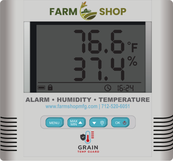 Grain Temp Guard Alarm HT